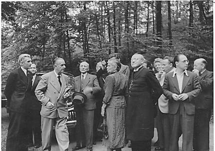 Thomas Mann Hermann Nebe, Katja Mann, Moritz Mitzenheim