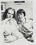 Ricarda Gor-Grieshaber, l. mit Luise Wegehaupt r