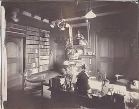 Arbeitszimmer von Joseph Kürschner
