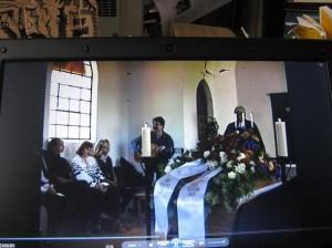 Biermann bei der Beerdigung Wolfgang Kandts